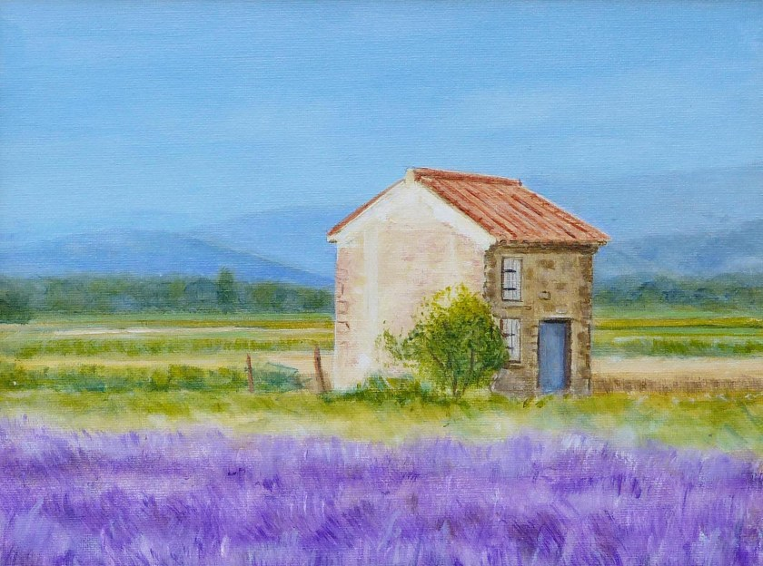THE FIELDS OF LUBERON